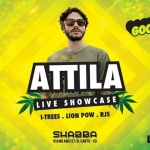 Good To Danz SPECIAL EDITION:  ATTILA aka the Barbarian at SHABBA CLUB