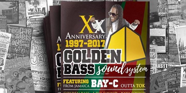 GOLDEN BASS 20th ANNIVERSARY at COX18, Milano