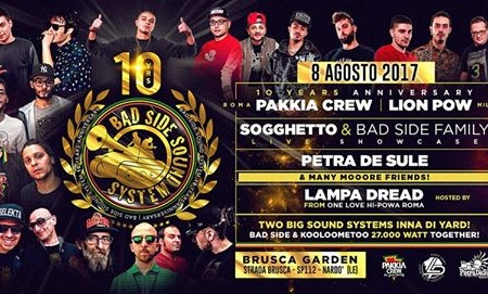 BADSIDE SOUND SYSTEM 10th Anniversary: SALENTO WE COMING!