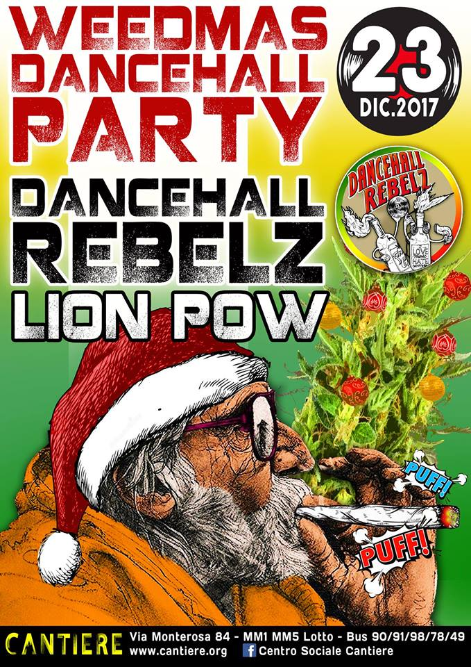 weedmas danz lion pow good vibes