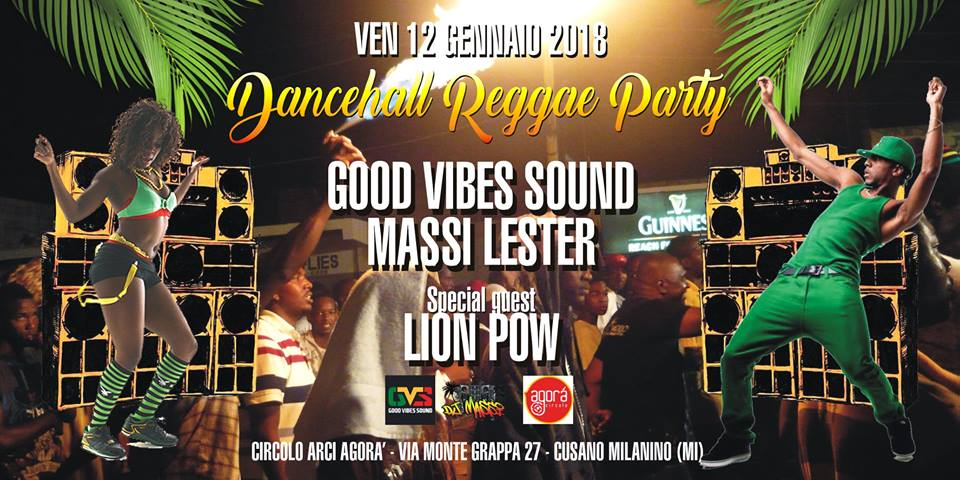 DAncehall reggae party agorà cusano