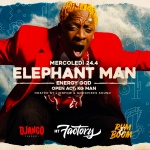 ELEPHANT MAN from JA is coming LIVE & DIRECT to BRIANZA!